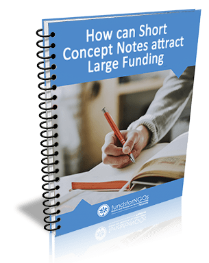 Short Concept Notes for Large Funding
